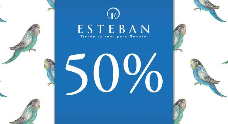 Rebajas Esteban Orense Enero 2018 50%