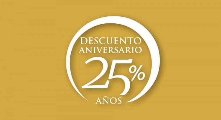 25 Aniversario de Esteban Orense con 25% de descuento