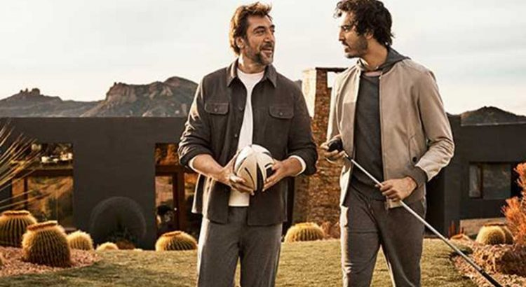 JAVIER BARDEM & DEV PATEL. DEFINING MOMENTS.