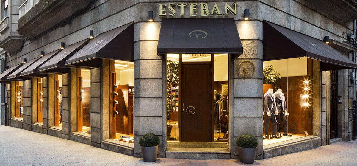 Esteban tienda de ropa para hombre en Ourense