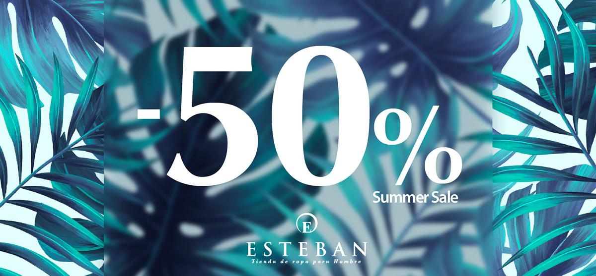 Esteban Orense Summer Sale 50%